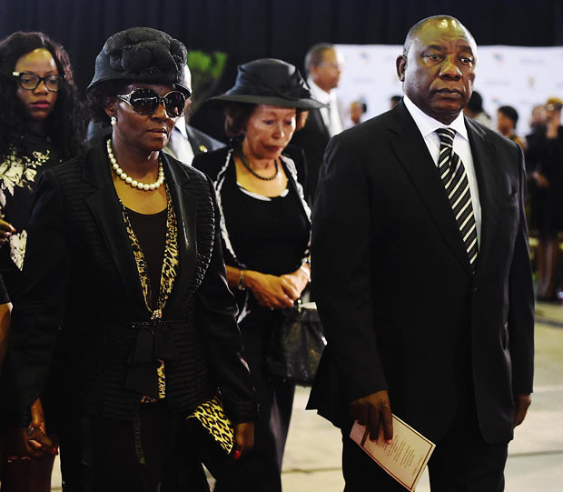 Minister Collins Chabane memorial service, 19 Mar 2015 ...