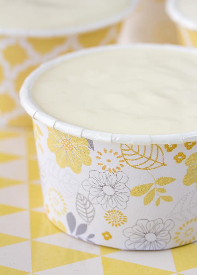 Postre de limón y leche condensada