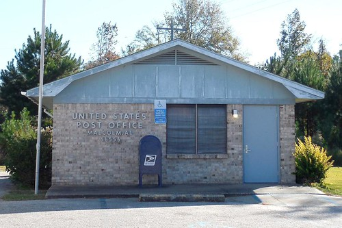 Malcolm, AL post office | by PMCC Post Office Photos