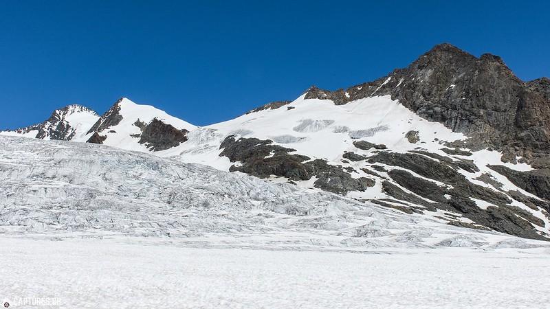 Ewigeis glacier - Konkordiaplatz