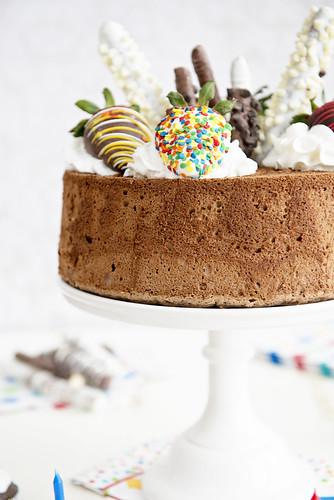 Cake Angel Chocolate Banana Loaf