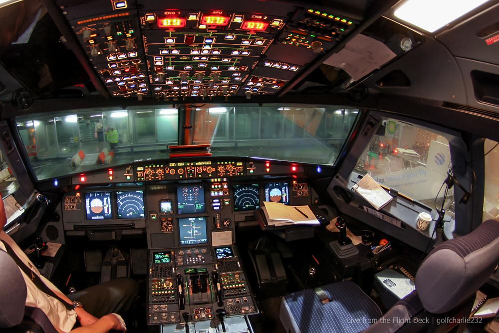 Airbus A319 Flight Deck | Tokina 10-17 Fisheye at 10mm ...