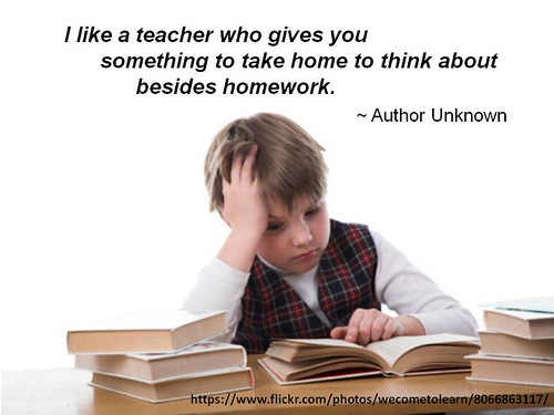 Do teachers like giving homework