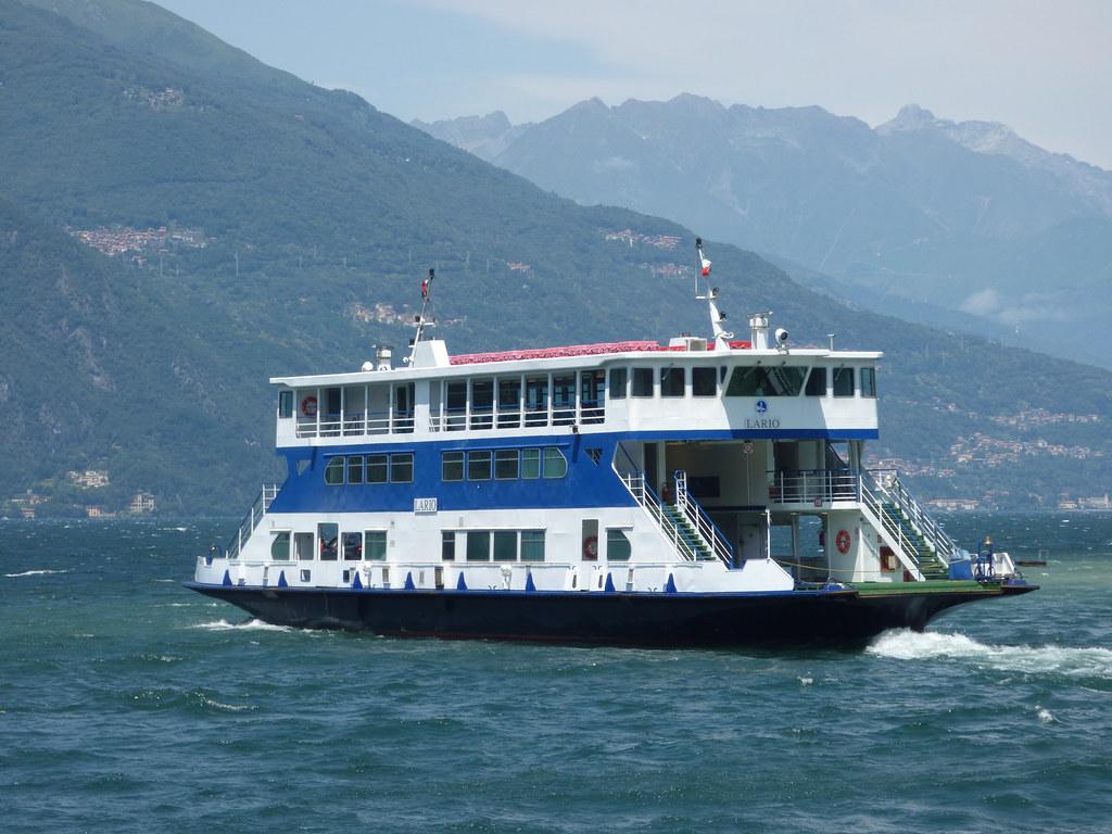 Lake Como Bellagio Lungolago Europa Car Ferry Lario Flickr