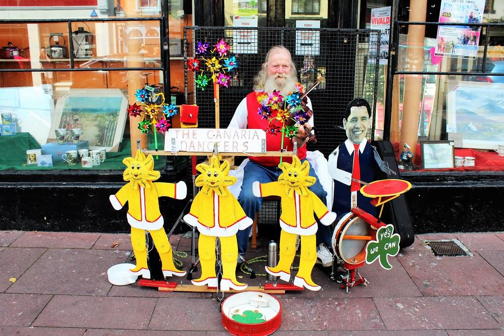 Street Musician, Killarney, Ireland