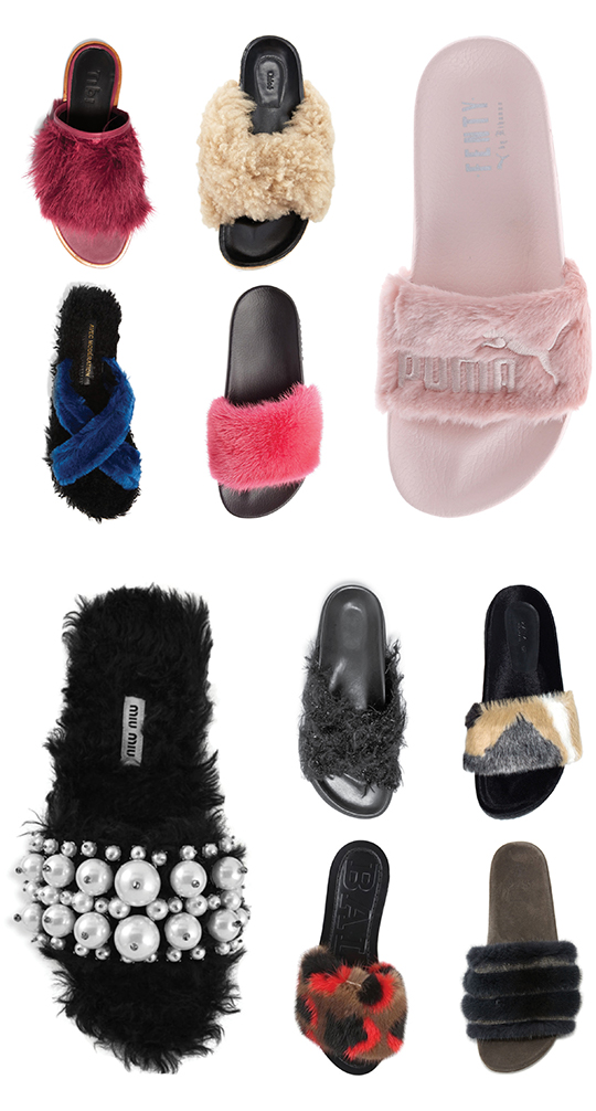 6ad095ec87e85 Mizhattan - Sensible living with style  Fall 2016 Shoe Trend  Fur Slides