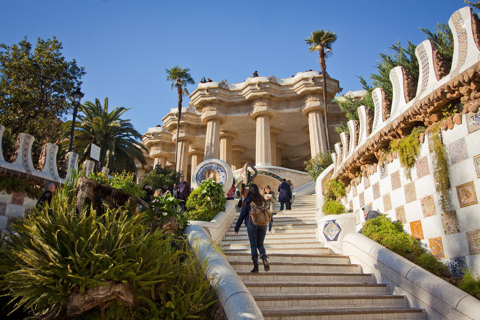 garden, park, europe, travel, spain