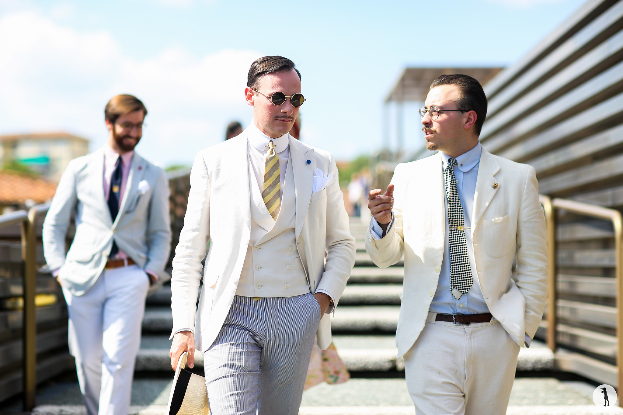 Michael-Francois Loir at Pitti Uomo 88