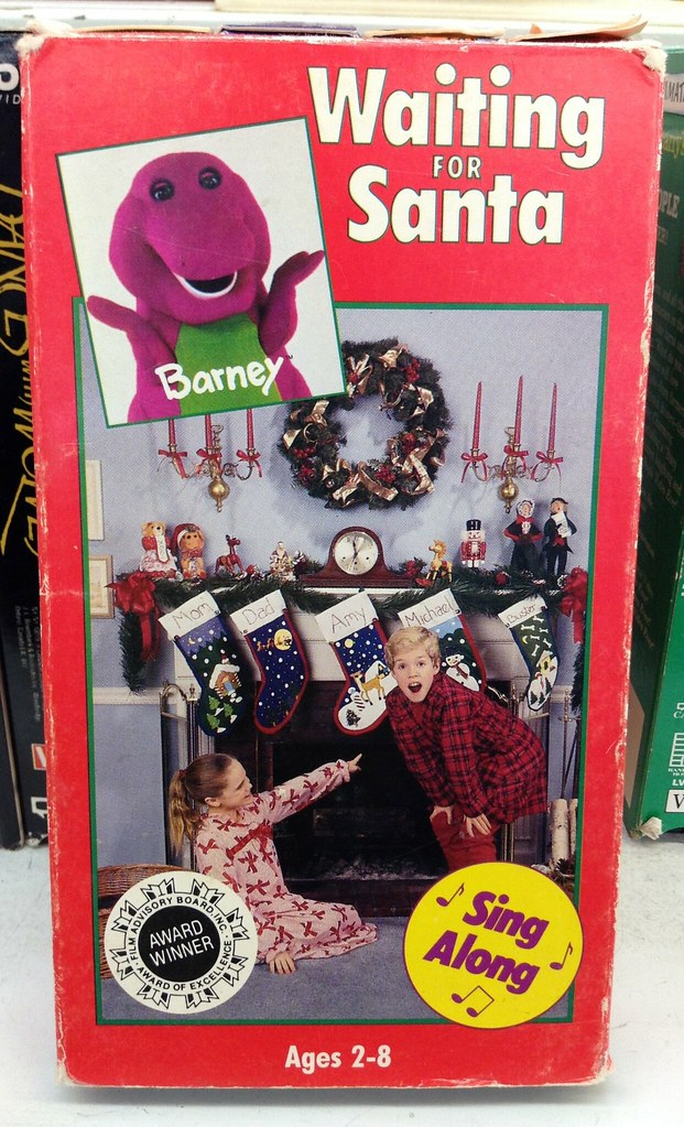 Barney\'s Waiting for Santa (1992, VHS) | I used to love Barn… | Flickr