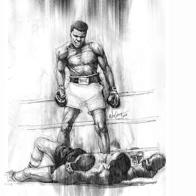 How To Draw A Boxer Fighter Step By Step