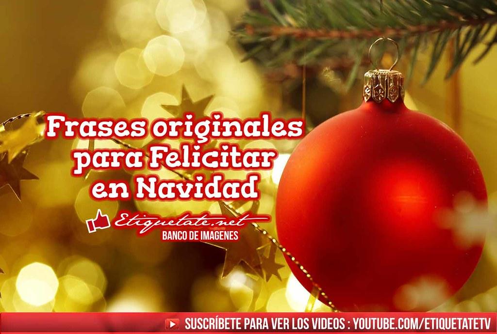 Frases originales para felicitar en navidad frases origina flickr - Cosas originales para navidad ...