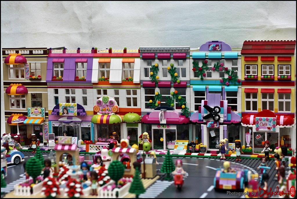 Lego Friends Town Friends Modular House Ddoshini Flickr