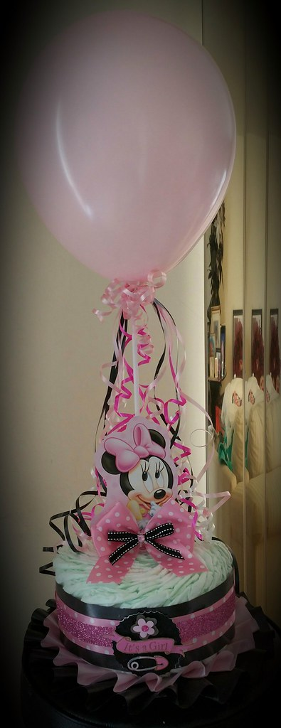 Minnie Mouse Baby Shower Centerpiece Baby Minnie Mouse Sherlene