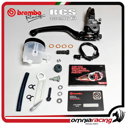 brembo rcs 19 radial brake pump master cylinder ref. Black Bedroom Furniture Sets. Home Design Ideas
