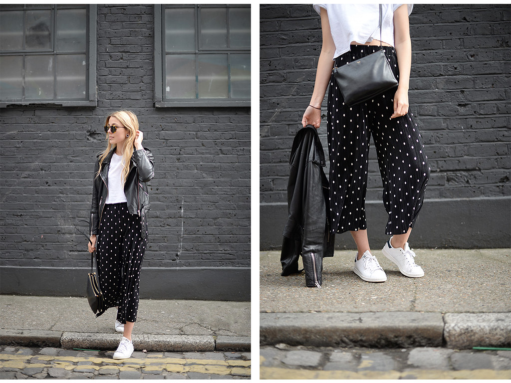 Polka Dot Pleats