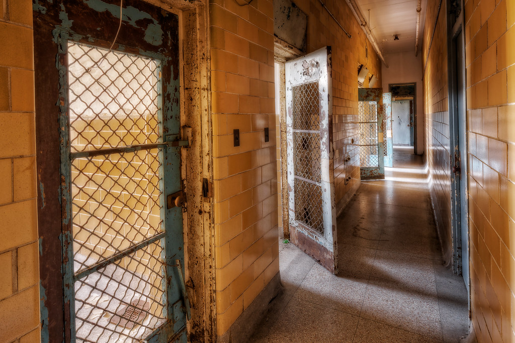 ... Bars on the Doors   by Frank C. Grace (Trig Photography) & Bars on the Doors   Trans-Allegheny Lunatic Asylum November \u2026   Flickr