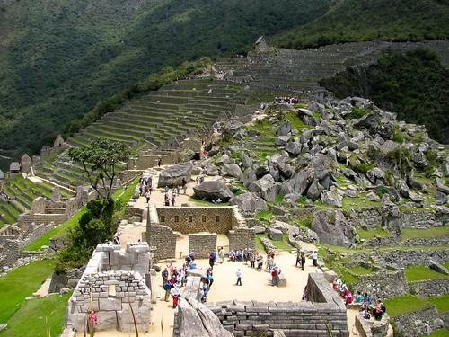 Sector de los templos, Machu Picchu