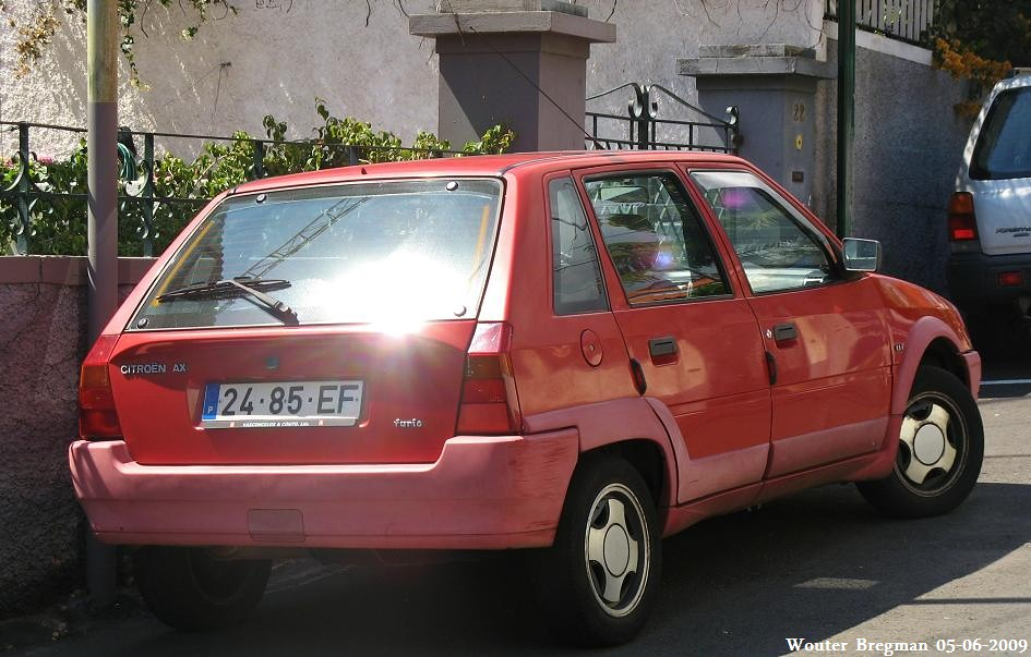 Citro U00ebn Ax 1 1i Furio 1994