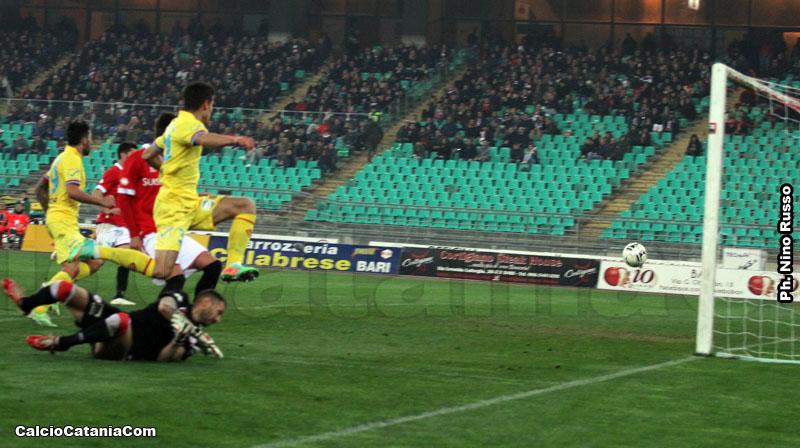 Un flash dell'ultimo Bari-Catania, una sfida che potrebbe ritornare...