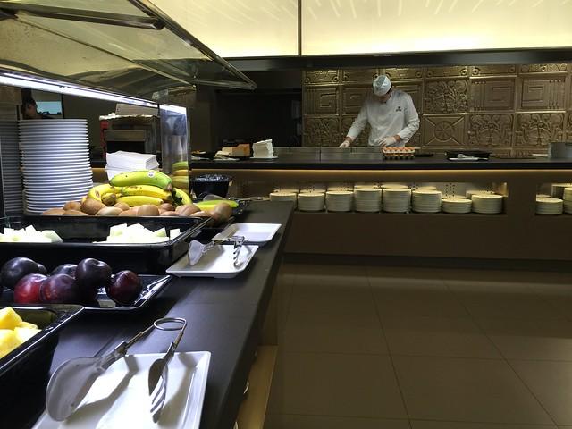 Buffet del restaurante del Hotel Don Pancho en Benidorm