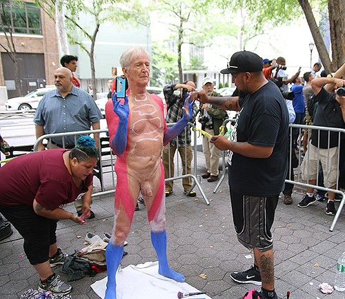 Nyc bodypainting day 2016 youngnaturistsamerica flickr for Painting jobs nyc