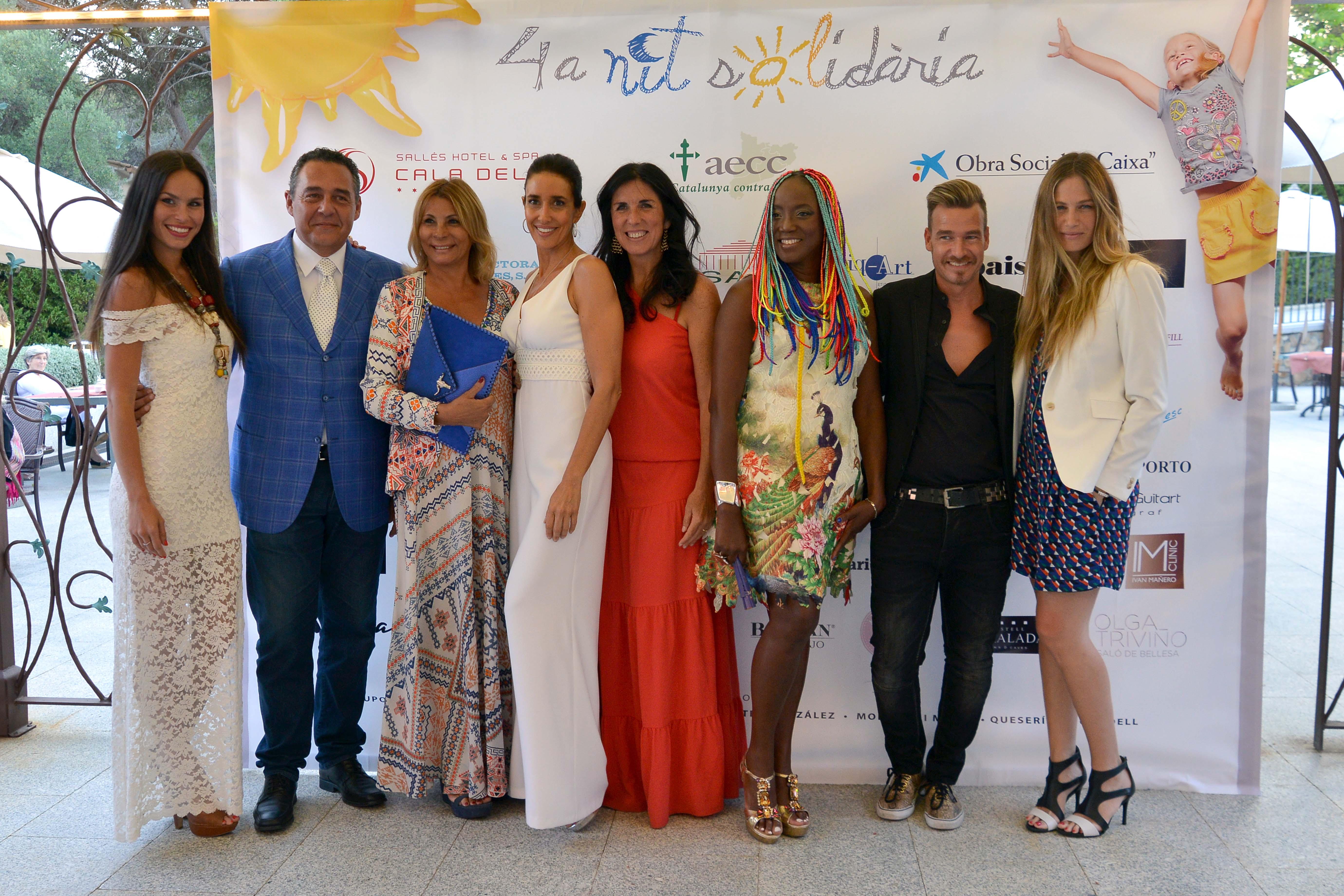 Mireia Canalda, Javier Colocho, Pilar Oporto, Elsa Anka, Cristina Cubero, Lucrecia, Jordi Dalmau y Martina Klein