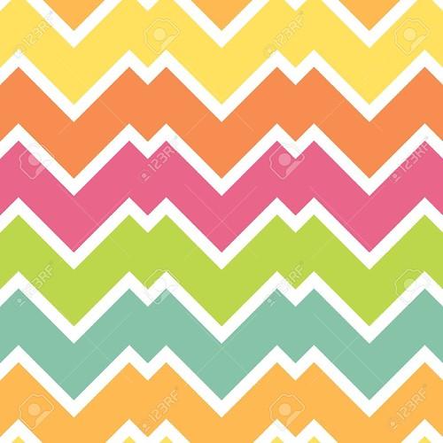 Colorful Chevron Wallpaper Download   Colorful Chevron