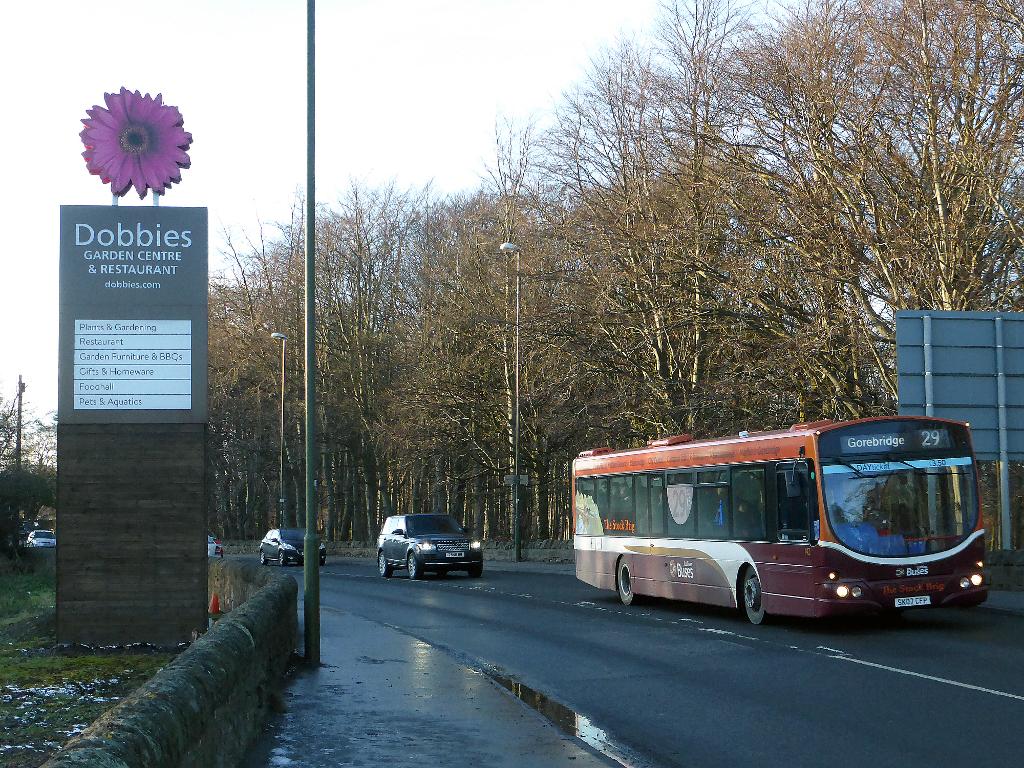 Garden Centre Kitchener Lothian Buses 142 Sk07cfp At Dobbies Garden Centre Flickr