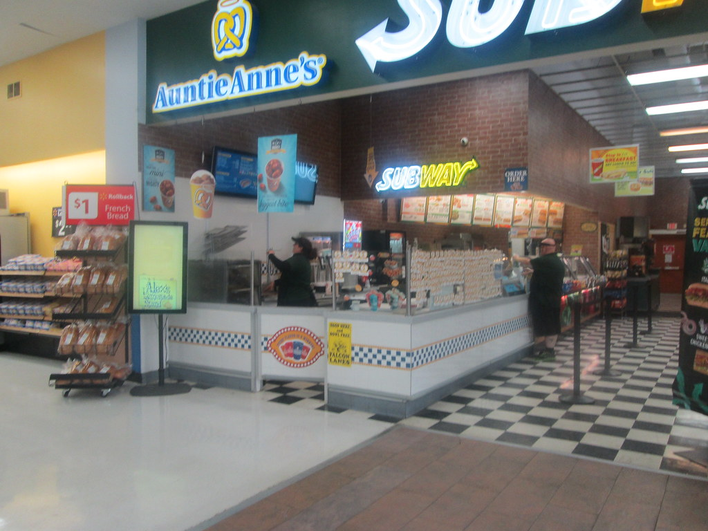 Subway & Auntie Anne's ...