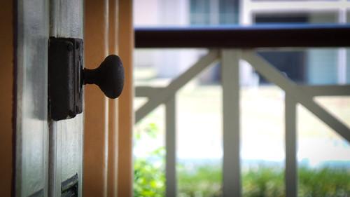 Rusty Door Handle Handle On The Double Doors From The Mast Flickr