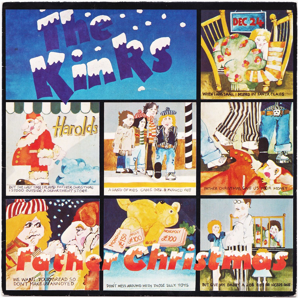THE TWELVE (45 RPM) SLEEVES OF CHRISTMAS: \'Father Christma… | Flickr