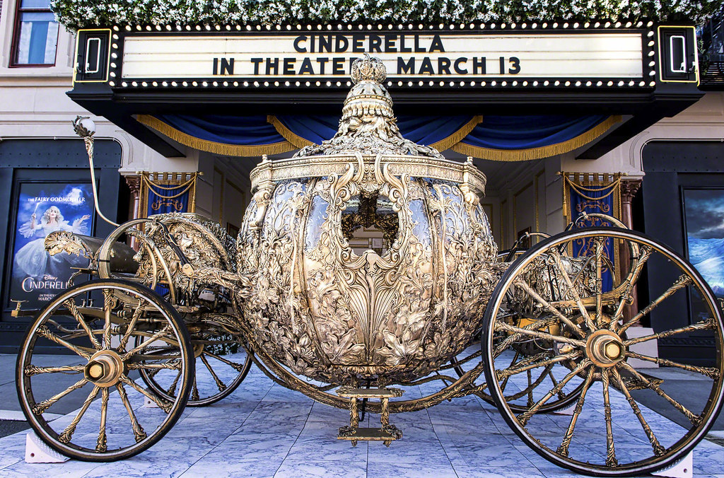 how to build a cinderella carriage