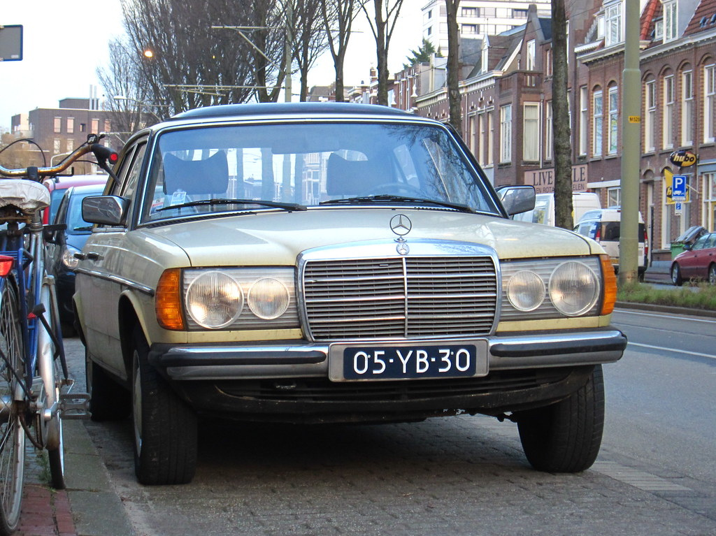 1977 Mercedes Benz 250 W123 Place Duinoord Den Haag Flickr