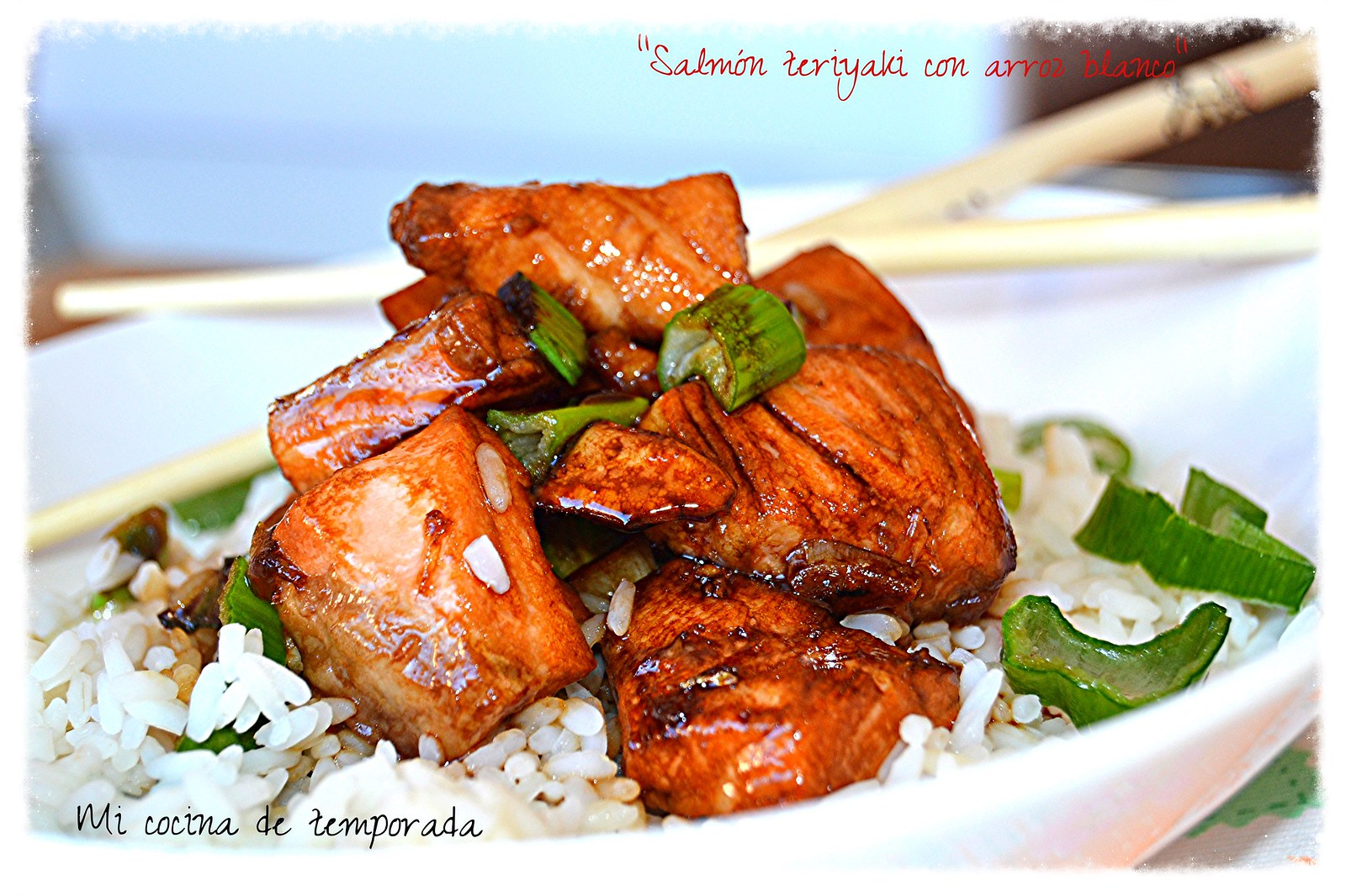 arroz con salmon al teriyaki 009