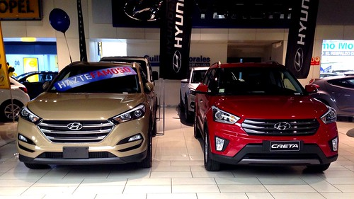 Hyundai Tucson, Creta - Santiago, Chile