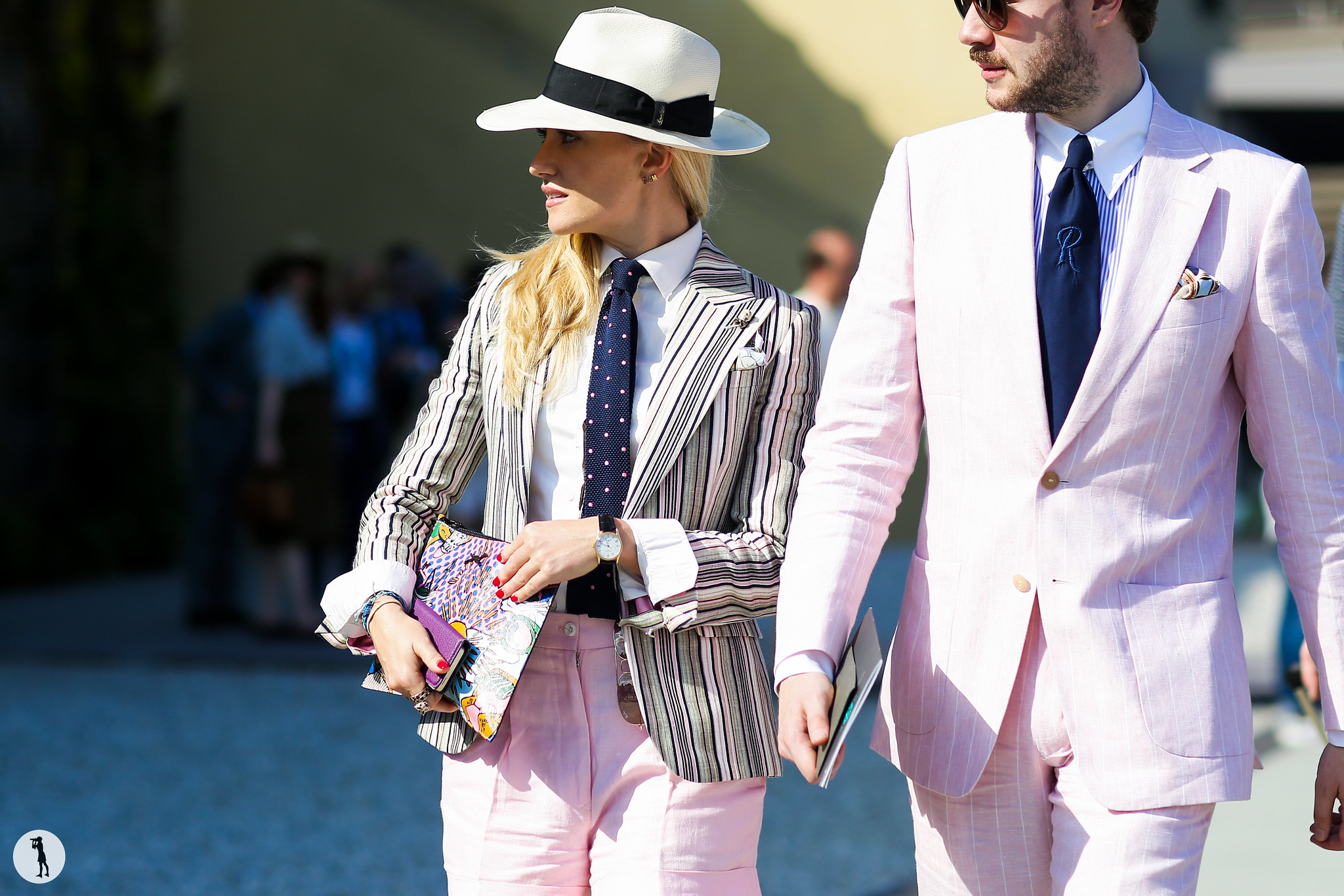 Sarah Ann Murray at Pitti Uomo 88