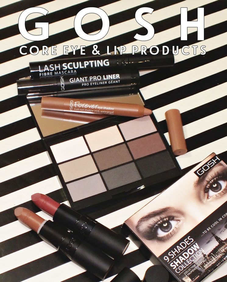 gosh core products eye & lip