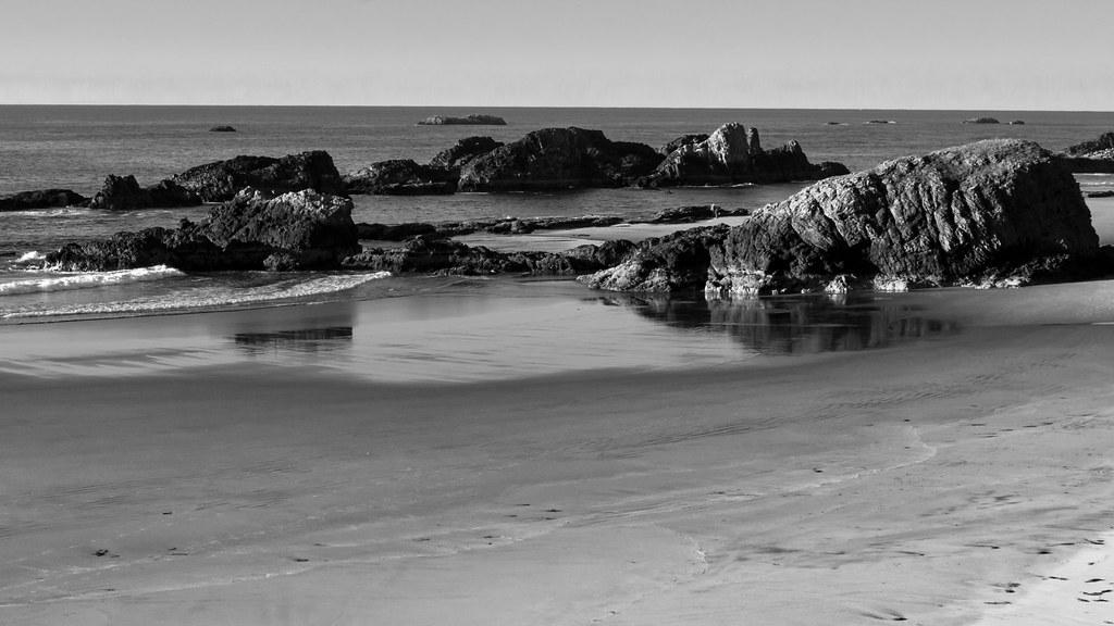 Seal Rock State Park Beach
