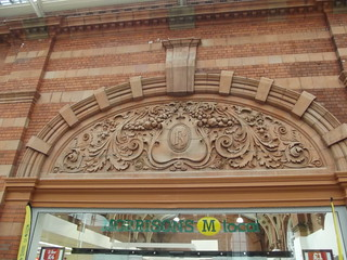 Nottingham Station - sculpture above Morrisons Local | by ell brown