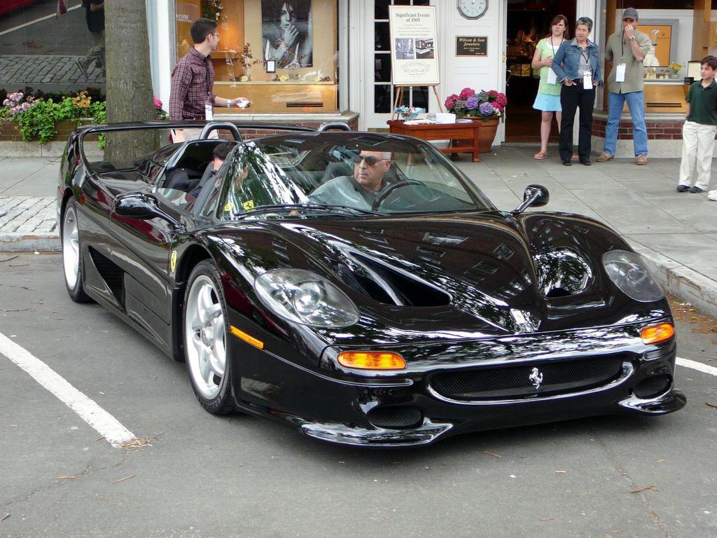 Ferrari F50 Black | Ferrari F50 Black www.wallpaperstech ...