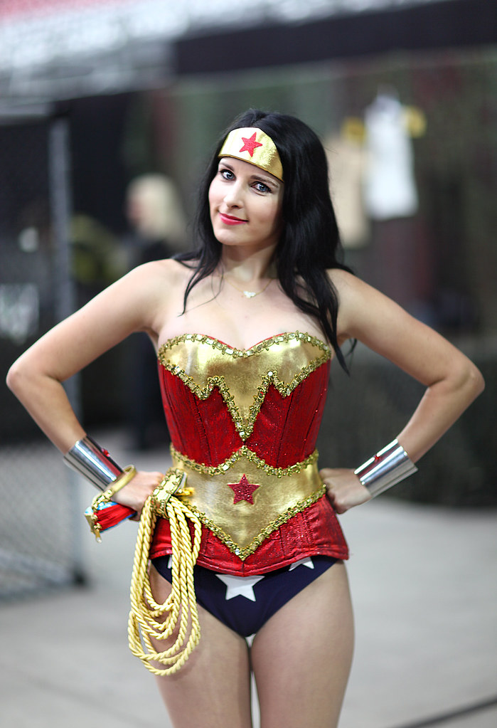 Non Sexy Wonder Woman Costume
