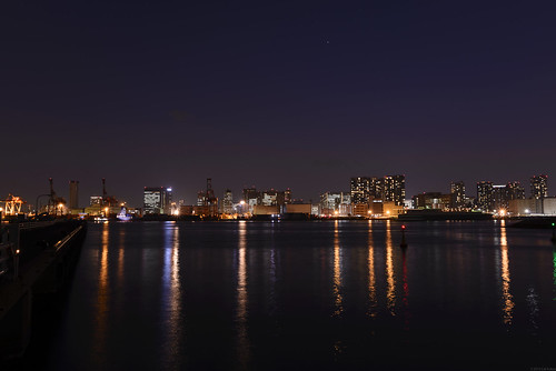 Shibaura Pier beneath the Venus | by cat.fukao