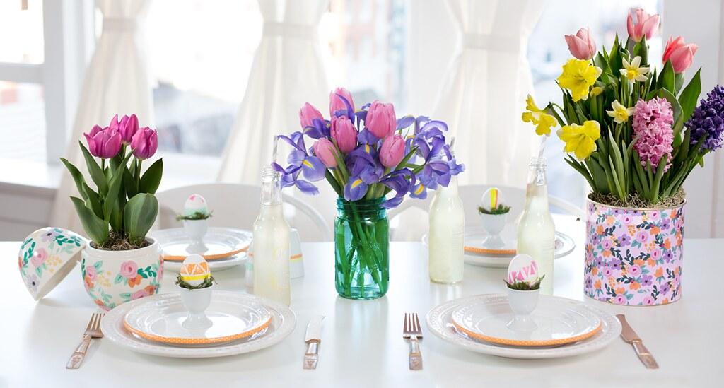 Flower Pot Decoration Pinterest