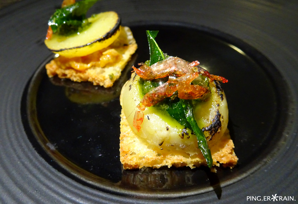 Creative Cuisine: Horizon Bistronomy - Curry Chicken RIllettes