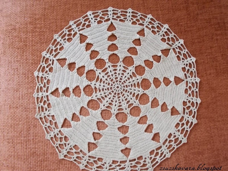 crochet, christmas, tree, doily