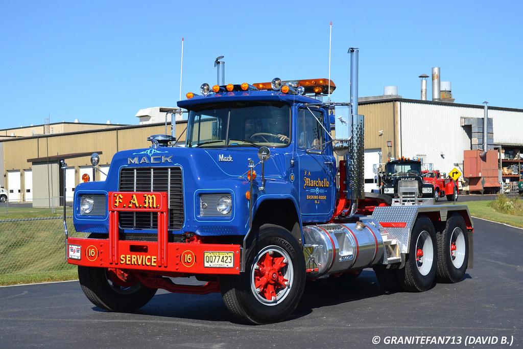 1985 Mack Truck : Mack r st trucks buses trains by