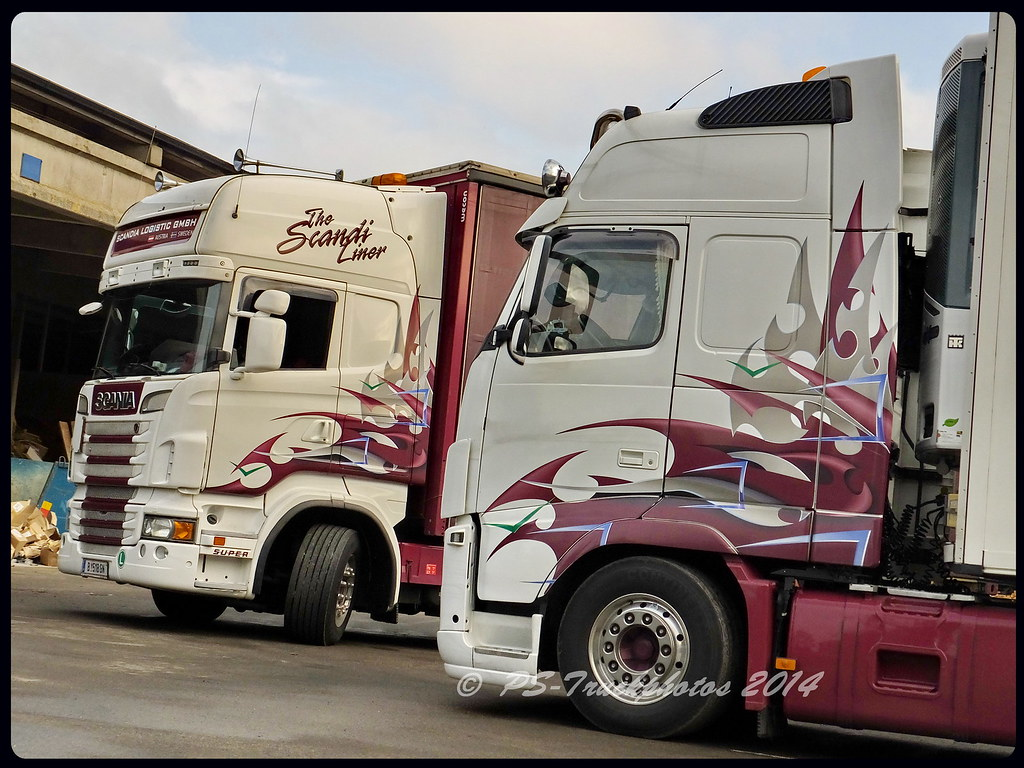 scania vs volvo - muther - scandia-logistic - a | ps-truckphotos