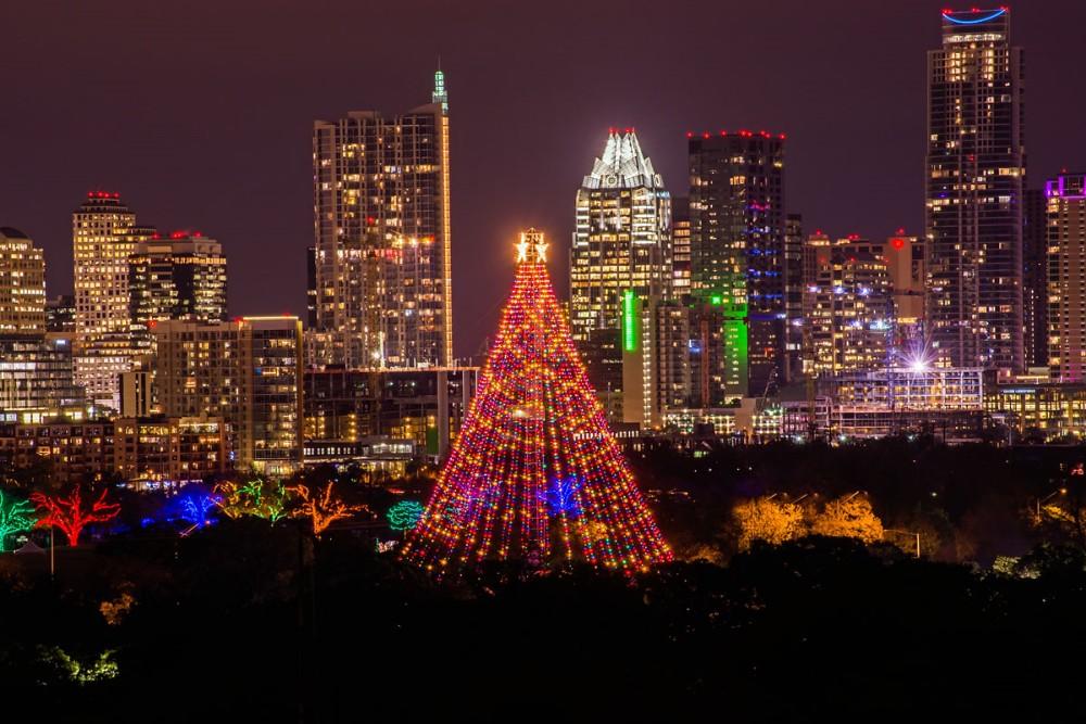 Nice Austin Christmas Tree Part - 11: ... Zilker Christmas Tree Austin Texas | By ManWellGarza