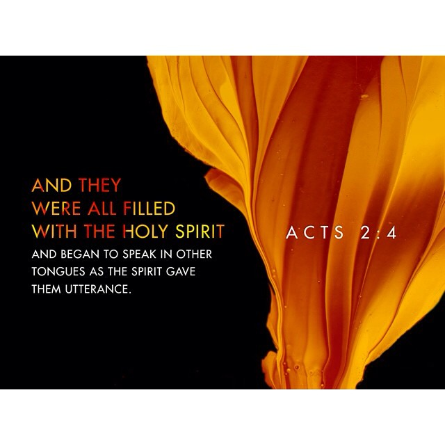 verseoftheday and they were all filled with the holy spi flickr