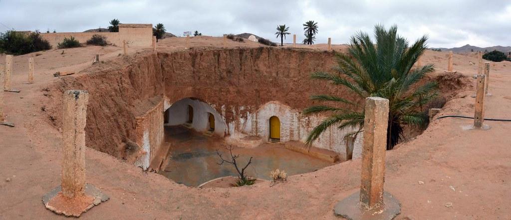Star Wars hotel, Tunisia
